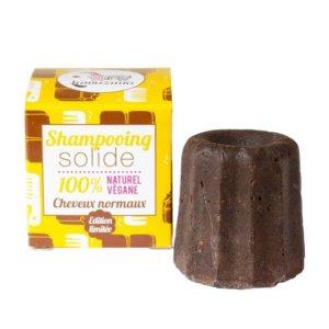 Festes Shampoo mit Schokolade
