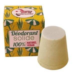 Festes Deodorant mit Palmarosa Oel vegan