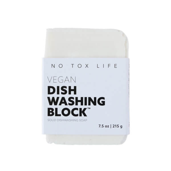 Zero Waste Dish Washing Block Geschirrspuelbarren