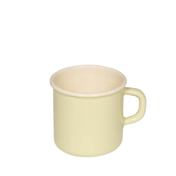 Tasse aus Emaille Topf mit Boerdel
