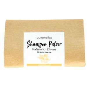 Shampoo Pulver Hafermilch Zitrone Puremetics