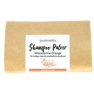 Shampoo Pulver Macadamia Orange