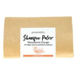 Shampoo Pulver Macadamia Orange