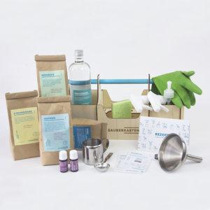 Sauberkasten Premium DIY Reinigungsmittel