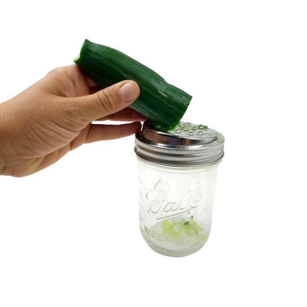 Spiralschneider Aufsatz Ball Mason Glas