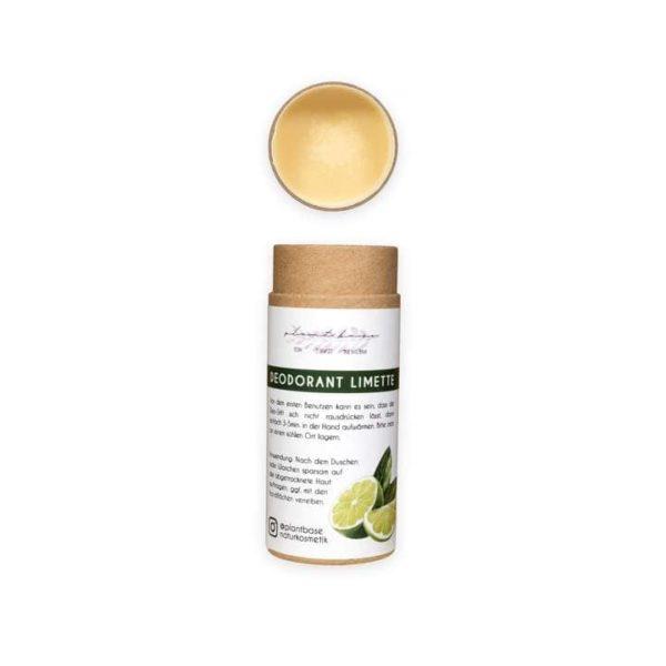 Bild mit eines Deosticks des Deodorants Limette