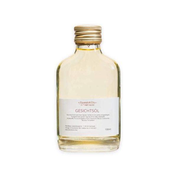 Bild einer verschlossenen Flasche Gesichtsöls
