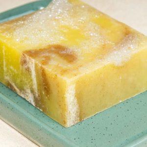 Bild der Duschseife mit Lemon