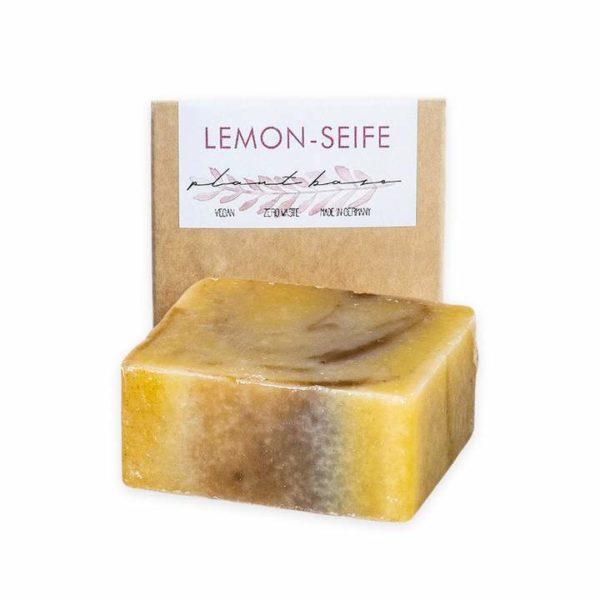Bild der Duschseife Lemon mit Verpackung