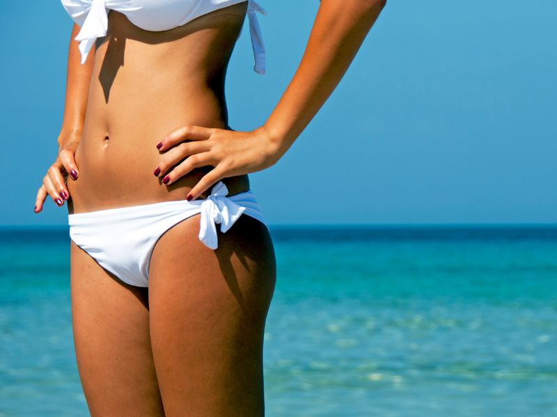 Bikinizone rasieren